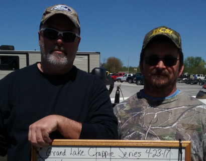 1st Place Grand Lake Crappie Series 4-23-2017 tourney