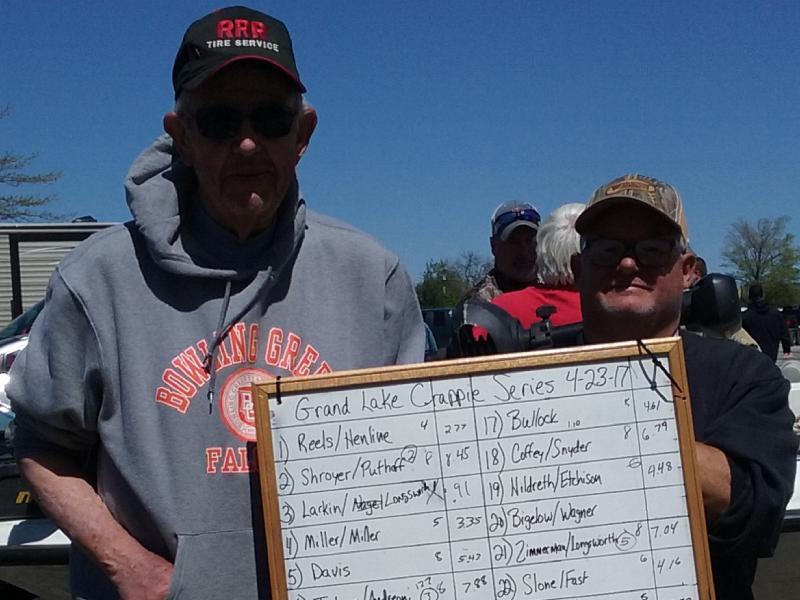 3rd Place Grand Lake Crappie Series 4-23-2017 tourney