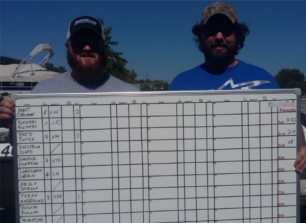 2nd place 9-24-17 Grand Lake Crappie Sereis