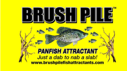 Grand Lake Crappie Series Sponsor Brush Pile attractant