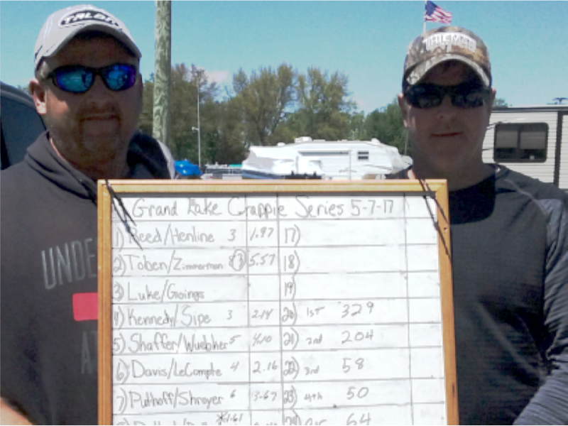 2nd Place Grand Lake Crappie Series Classic